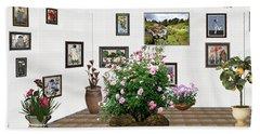 Digital Exhibition _ Roses Blossom 22 Beach Sheet