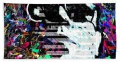 digital Lou Reed Beach Sheet