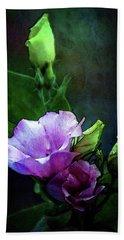 Digital Watercolor Elegance 3700 W_2 Beach Towel