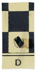 Dimensional Chess Beach Towel