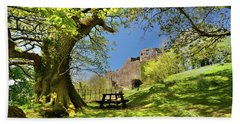 Dinefwr Castle Beach Towel