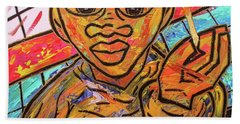 Diners At The Bar Beach Towel