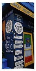 Dingle Record Shop Beach Sheet