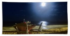 Dinner For Two In The Moonlight Beach Towel