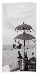 Beach Sheet featuring the photograph Dinner On The Beach by Cassandra Buckley