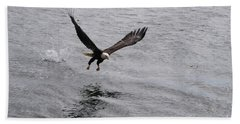 Dinner? Prince Rupert Eagle  Beach Towel