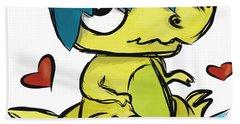 Dino Egg Beach Towel