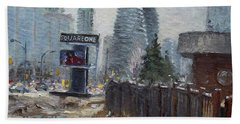 Square One Mississauga Beach Towel