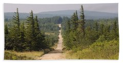 Dirt Road To Dolly Sods Beach Towel