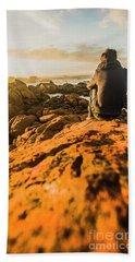 Discovering Wonderful Tasmania Beach Towel