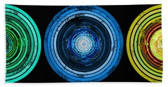 Circularity Beach Towel