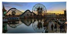 Disney California Adventure Panorama Beach Towel
