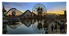 Disney California Adventure Panorama Beach Towel