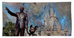 Disney World Beach Sheet