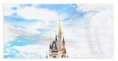 Disneyland Beach Sheet by Happy Home Artistry