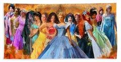 Disney's Princesses Beach Towel by Caito Junqueira