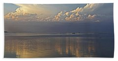 Beach Towel featuring the photograph Distant Thunder by HH Photography of Florida