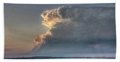 Distant Thunderstorm Beach Sheet