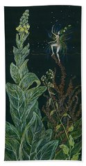 Ditchweed Fairy Mullein Beach Towel