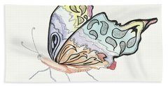 Beach Towel featuring the painting Diva by Kathryn Riley Parker