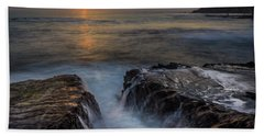 Diver's Cove Sunset Beach Towel
