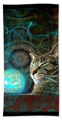 Beach Sheet featuring the digital art Divination by Anastasiya Malakhova