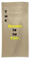 Divine #3 Beach Towel