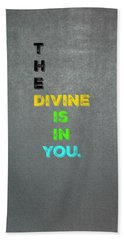Divine #4 Beach Towel