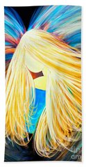 Divine Angel Beach Towel
