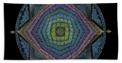 Divine Masculine Energy Beach Towel