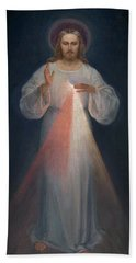 Divine Mercy Beach Towel