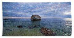 Diving Rock Beach Towel