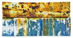 Division Beach Towel by Silvia Ganora