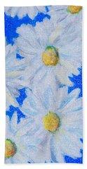 Dizzy Daisies Beach Towel