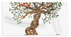 Dna Tree Of Life Beach Towel