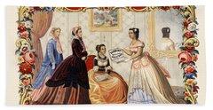 Dobbins Medicated Toilet Soap Advertising 1869 Beach Sheet