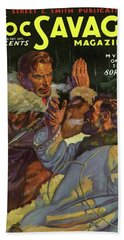 Doc Savage The Mystery On The Snow Beach Towel