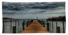 Dock Of The Bay Beach Towel