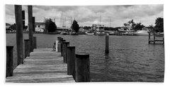 Dock Of The Bay Beach Sheet