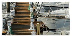 Dock Walk Beach Sheet