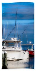 Beach Towel featuring the photograph Docked And Quiet by Kendall McKernon