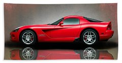 Dodge Viper Beach Sheet by Mark Rogan