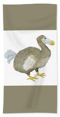 Dodo Bird Protrait Beach Sheet