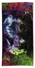 Dog Spirit Guide Beach Towel