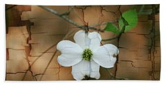 Dogwood Bloom Beach Towel