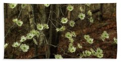 Beach Sheet featuring the photograph Dogwoods In The Spring by Mike Eingle