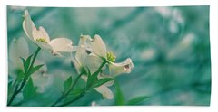 Beach Towel featuring the photograph Dogwoods by Rima Biswas