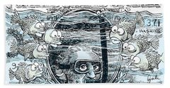 Dollar Submerged Beach Sheet