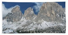 Dolomites 1 Beach Towel
