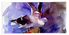 Dolphin Gulls Beach Towel